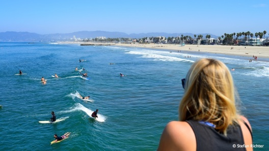Surfer gucken.