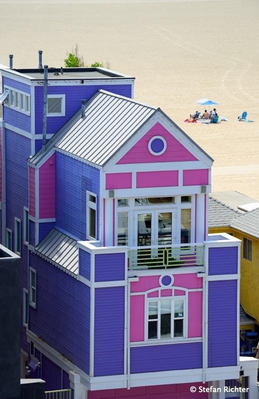Santa Monica Beach House.