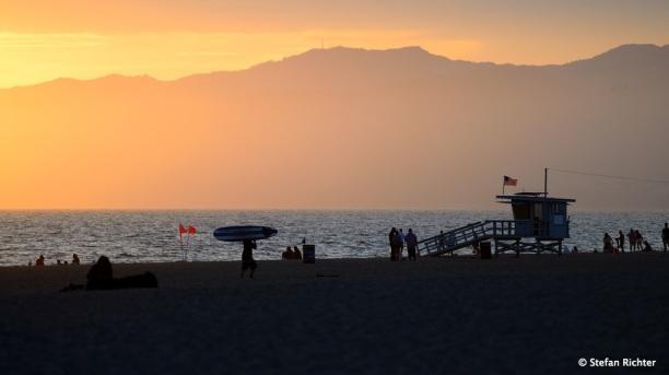 Ein letzter Sonnenuntergang nach 7 Wochen in Nordamerika.
