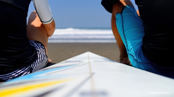 Surfen, Essen, Schlafen - Ein typischer Tagesablauf auf Bali.