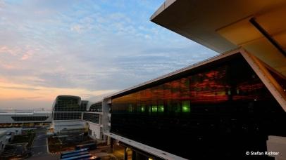 Sonnenaufgang in Malaysia.