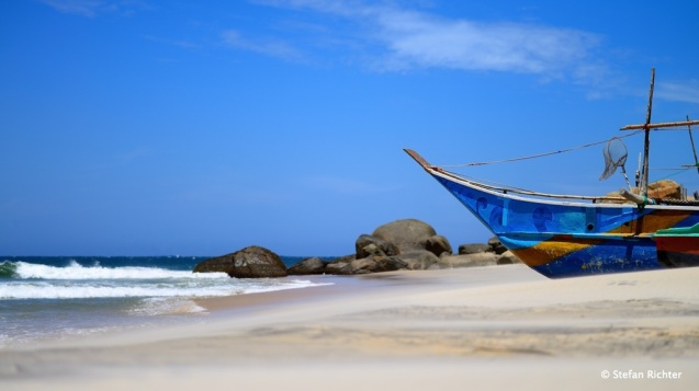 Panama Beach, Sri Lanka.