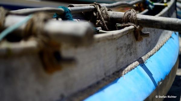 Traditionelles Fischerboot.