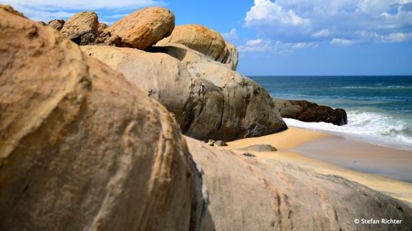 Ungewöhnliche Felsformationen @ Panama Beach, Sri Lanka.