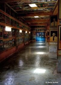 Im Weherehena Tempel. Bildergeschichten aus Buddhas Leben.