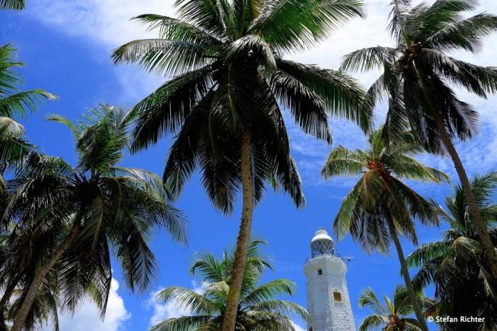 Der Leuchtturm von Dondra an der Südspitze Sri Lankas.