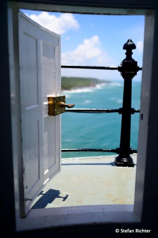Blick auf die Südküste @ Dondra Lighthouse.