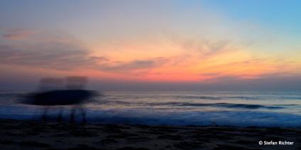 5:28 Uhr: Guten Morgen! Es geht wieder ins Wasser.