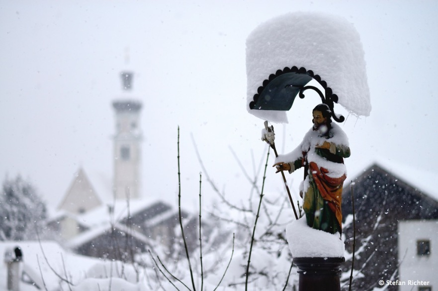 Tiefster Winter im Januar.