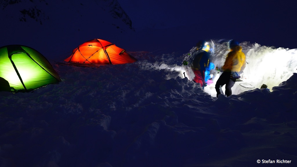 Wintercamping.