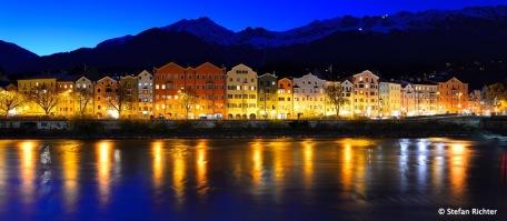 Ein Blick auf die neue alte Heimat Innsbruck / Tirol.