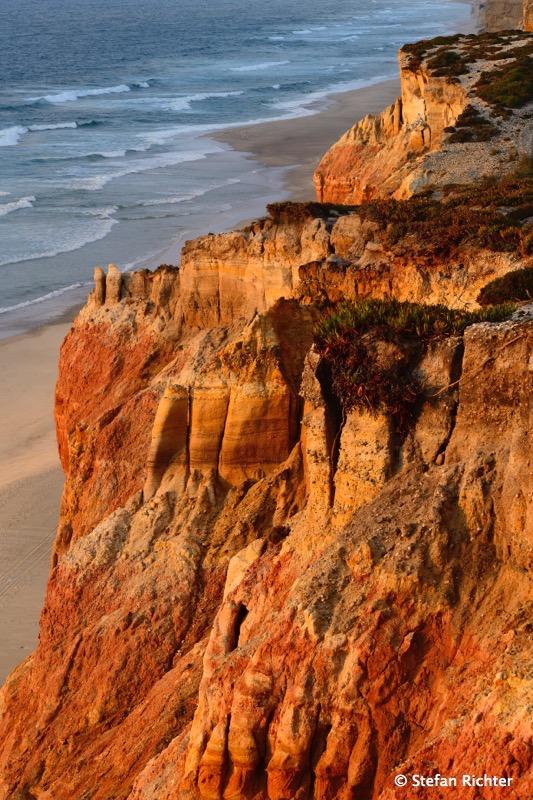 Sandsteinküste bei Peniche.