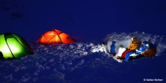 Wintercamping - Ein arschkaltes Erlebnis.