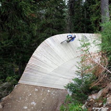 Flowtrail-Biken in Sölden...
