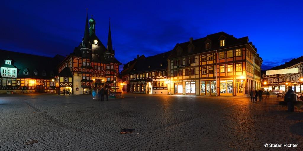 Marktplatz Wernigerode.