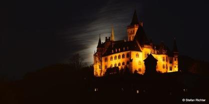 Das Schloss Wernigerode.
