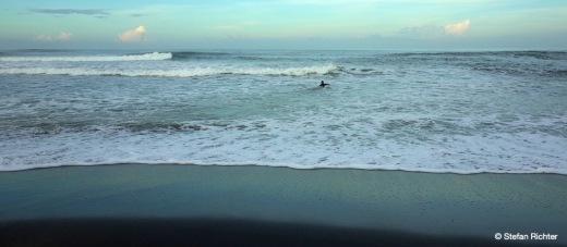 Surfzeit für Stefan.