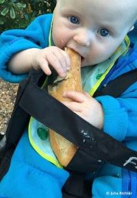 Finn liebt Baguette.