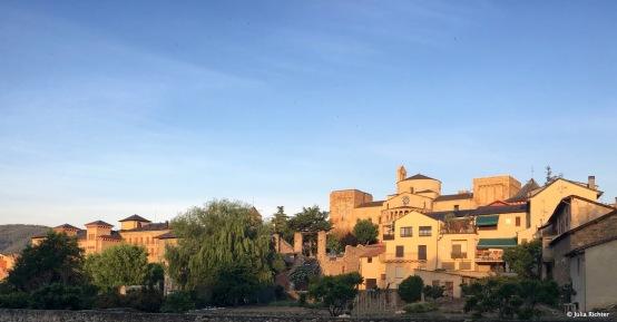 Sonnenaufgang in La Seu d'Urgell.