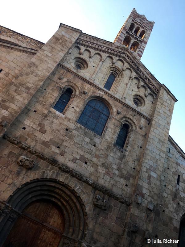Die Kathedrale von La Seu d'Urgell.
