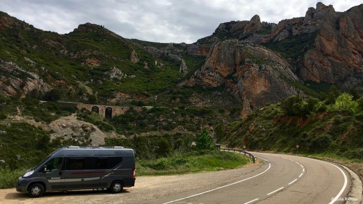 Es geht durch den Canyon.