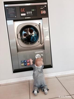 Waschtag für uns.