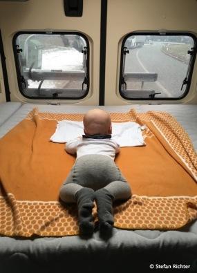 Die erste Fahrt mit dem Campervan fand bereits im Januar statt.
