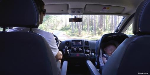 Papa und Sohn on tour!