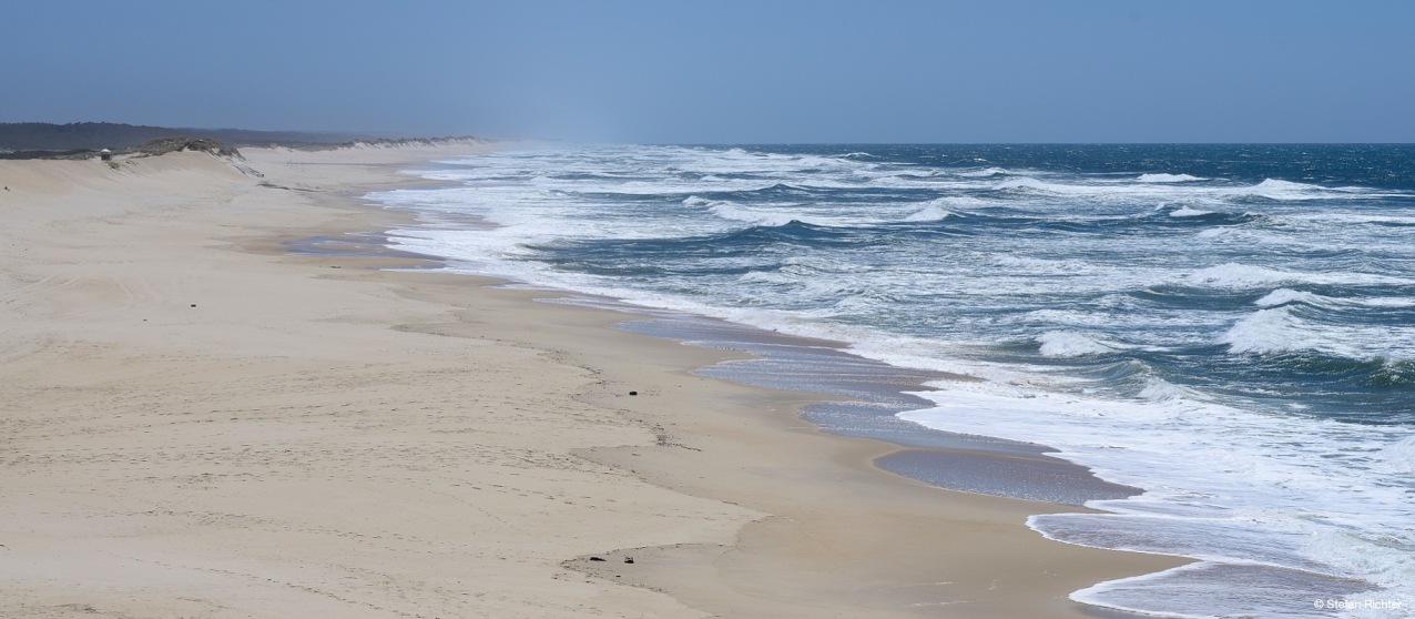 Wildes-Wellen-Durcheinander - nicht surfbar!