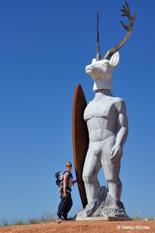 Nazaré ist bekannt für das Big Wave Surfing. Da schauen wir lieber nur zu!