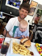 Finns erklärtes Ziel: Der Burger. Leider ohne Erfolg.