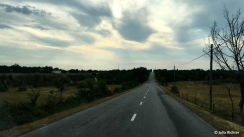 Über 150 km gab es keine Kurve. Kennt man ja eigentlich nur aus Amerika.