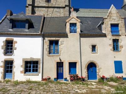 Hauswand @ Batz-sur-Mer.