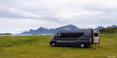 Happy Camping im Van.