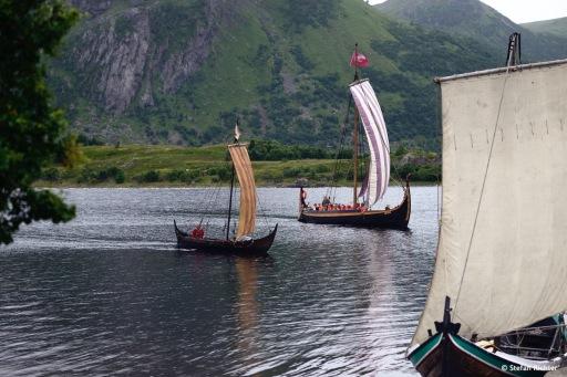 Wikinger Festival auf den Lofoten.