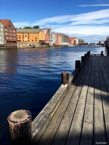 Kurzer Abstecher nach Trondheim.
