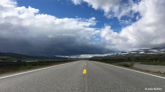 Freie Fahrt Richtung Norden.