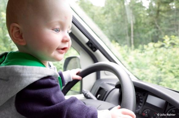 Finns absolute Lieblingsbeschäftigung: Autofahren.