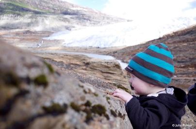 Gletscherblick.