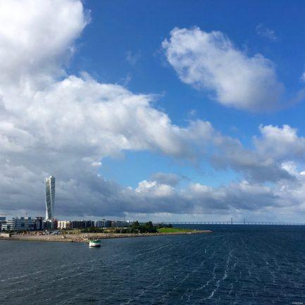 Tschüß Schweden! Wir nehmen die Fähre von Malmö nach Travemünde.