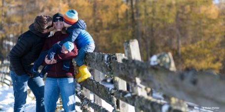 Familienfotos werden zu einer immer größeren Herausforderung.