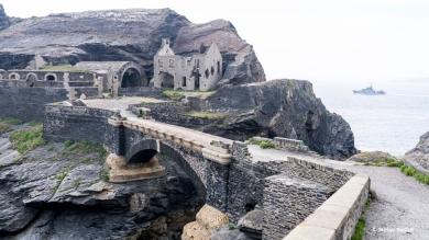 Eine alte Militärfestung. Fort de Capucins.