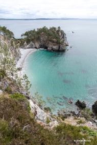 Zurück auf der Crozon Halbinsel und ein Ausflug zum Virgin Island Beach.