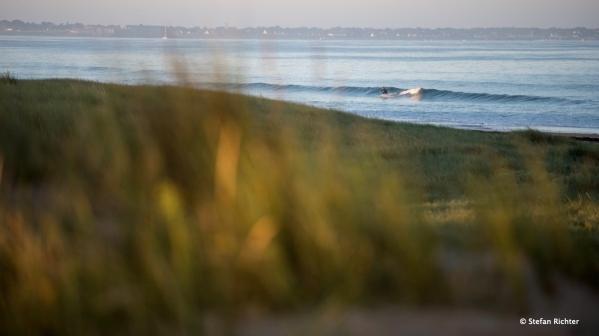 Eines der wenigen Surfbilder, auch wenn wir tatsächlich viel surfen waren.